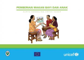 Screen shot of the cover of the Indonesia C-IYCF Counselling Cards
