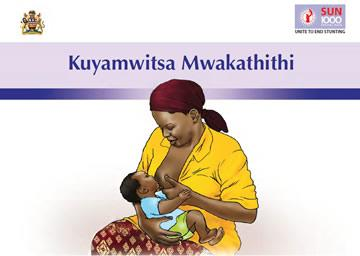 Screen shot of the cover of the Malawi C-IYCF Counselling Cards