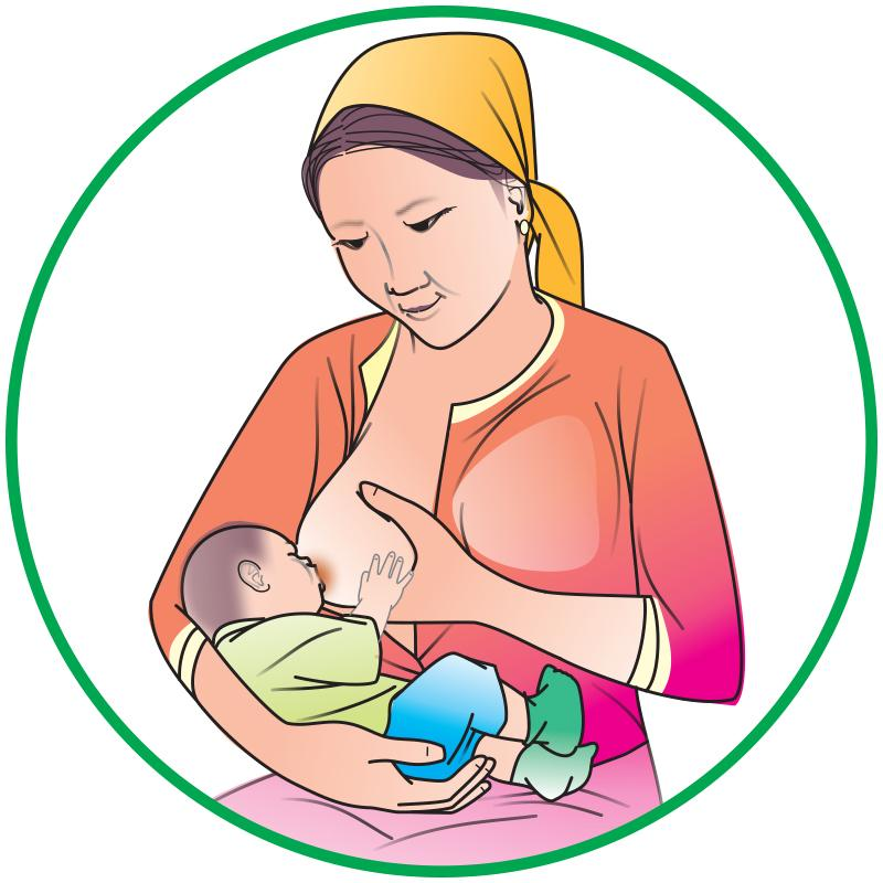 Breastfeeding - Breastfeeding during the day - 01 - Kyrgyz Republic