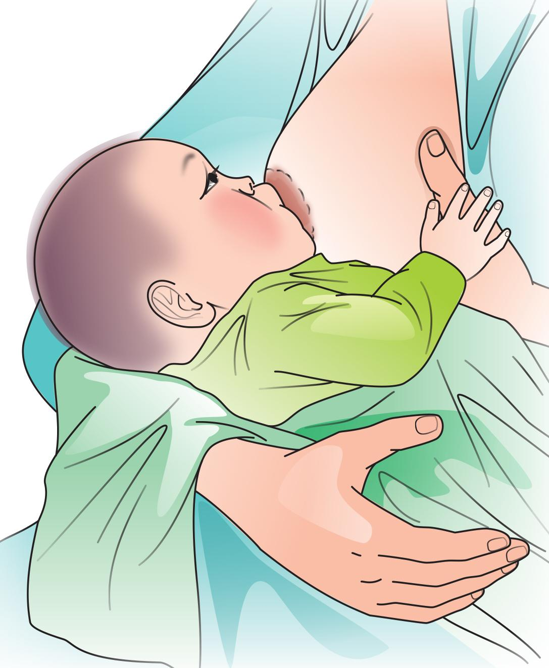 Breastfeeding - Breastfeeding attachment 0-6 mo - 06 - Kyrgyz Republic