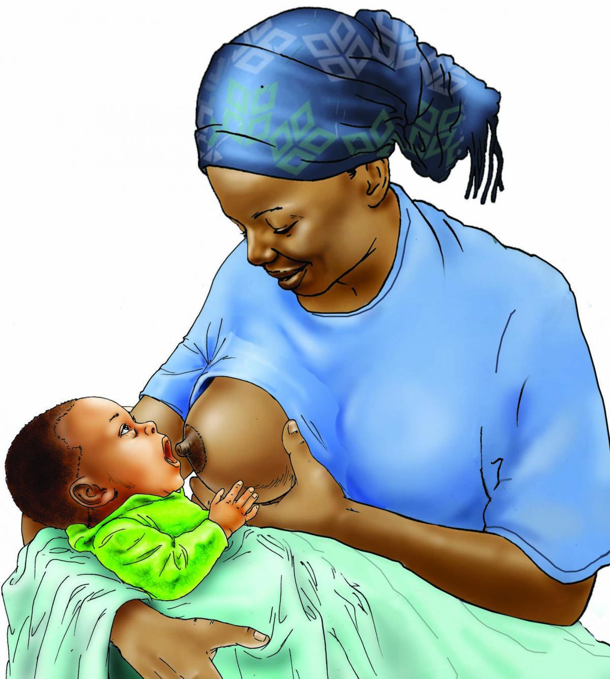 Breastfeeding - Breastfeeding pre-attachment 0-6 mo - 05E - Niger