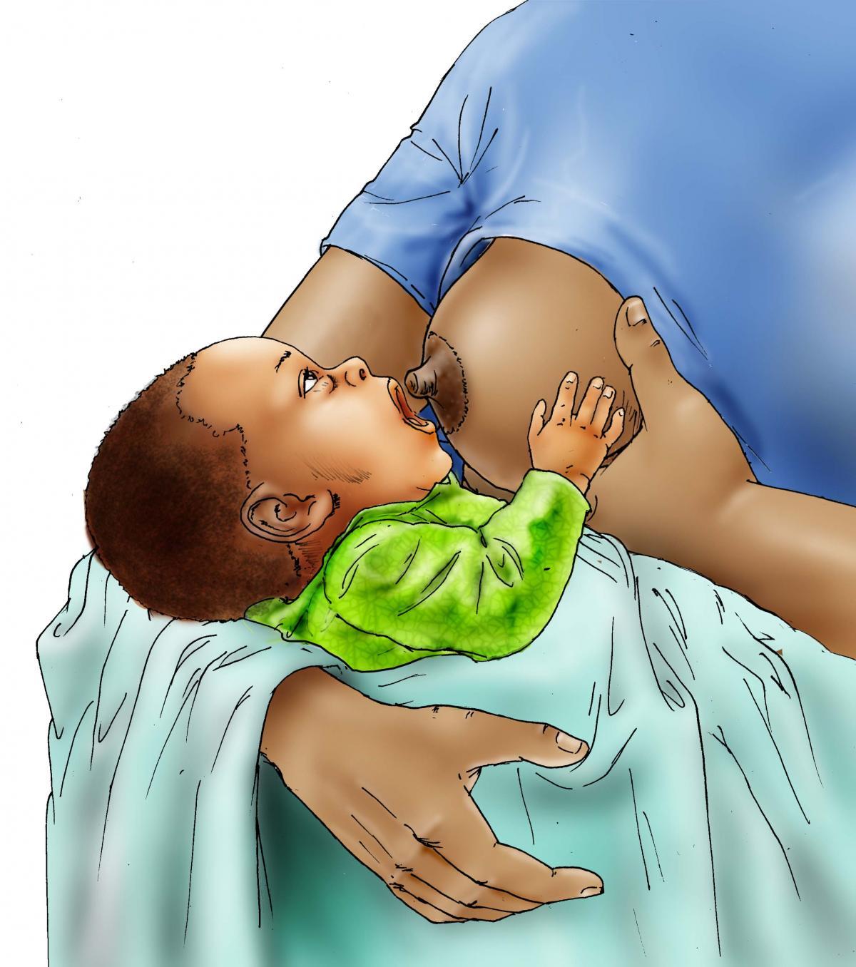 Breastfeeding - Breastfeeding pre-attachment 0-6 mo - 05C - Nigeria
