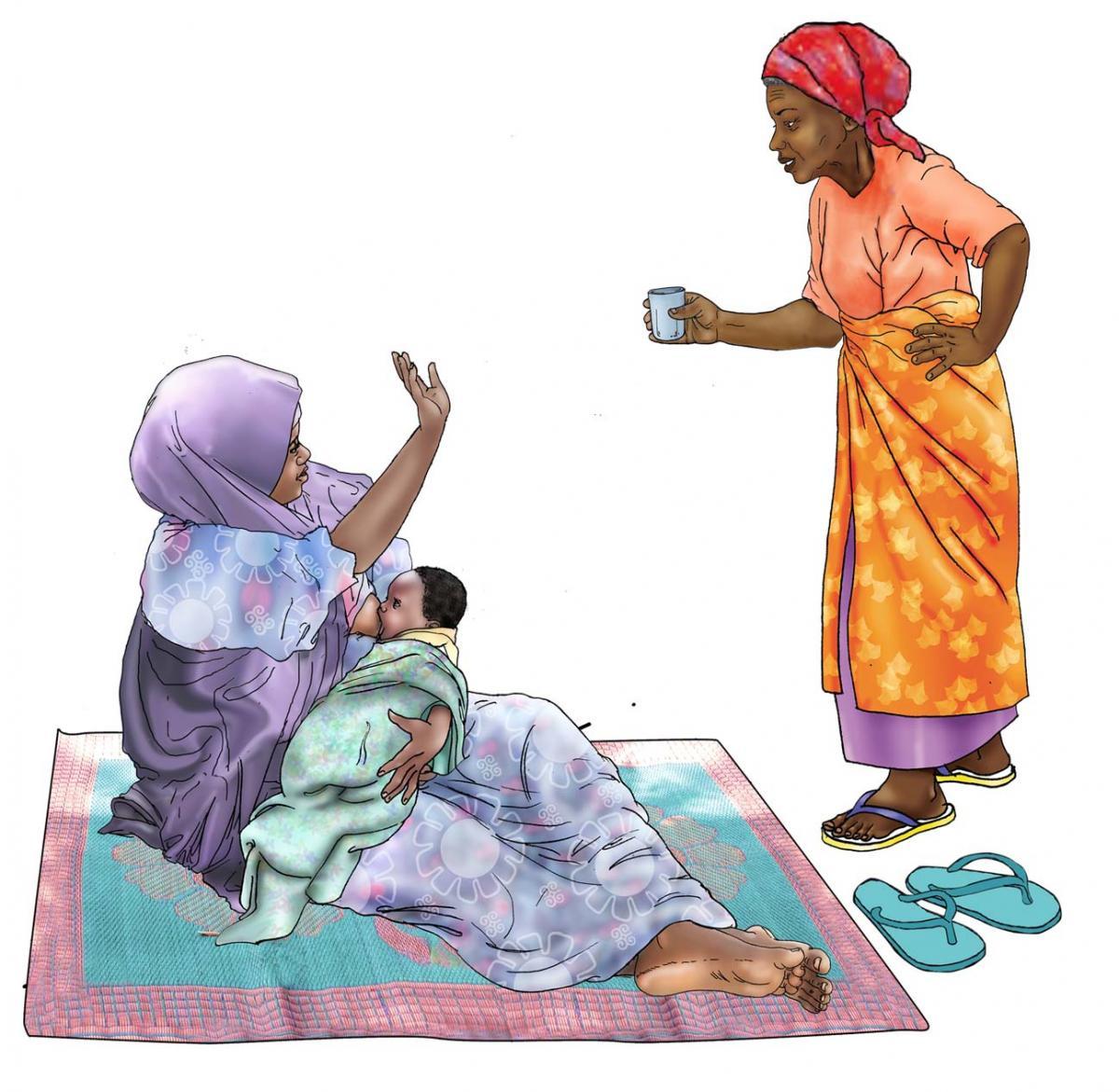 Breastfeeding - No water during breastfeeding 0-6 mo - 03 - Niger