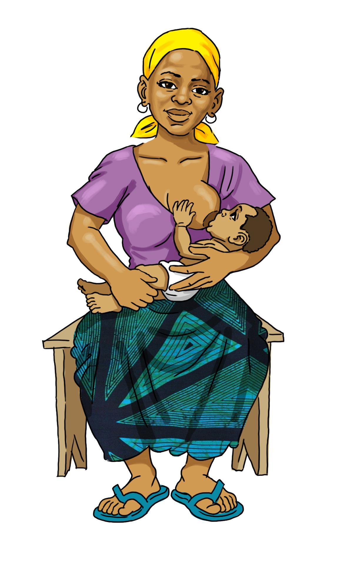 Breastfeeding - Exclusive breastfeeding 0-6mo - 08 - Burkina Faso