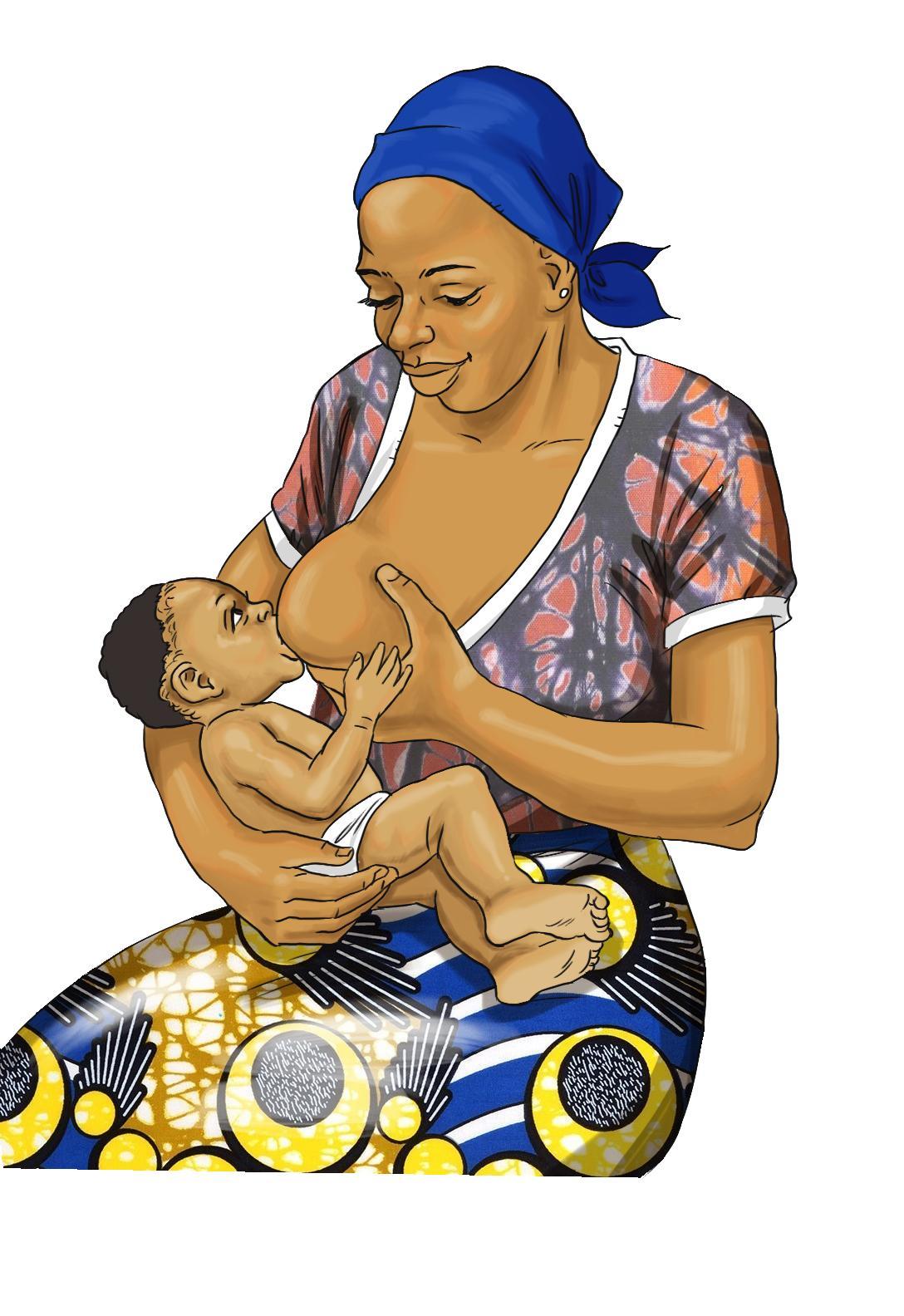 Breastfeeding - Exclusive breastfeeding 0-6mo - 01 - Burkina Faso