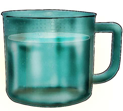 Objects - Cup of water - 01E - Non-country specific