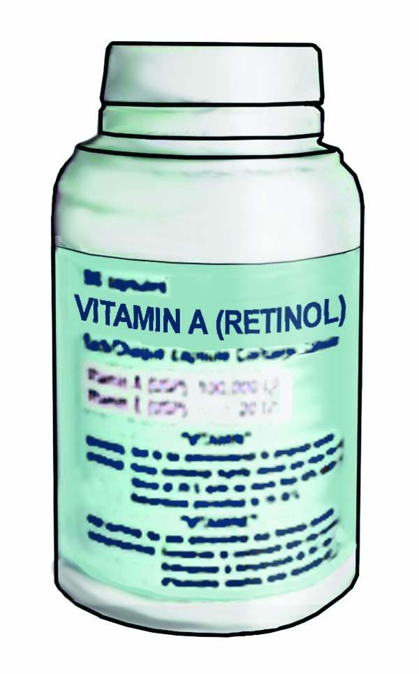 Objects - Vitamin A Bottle - 00 - Non-country specific