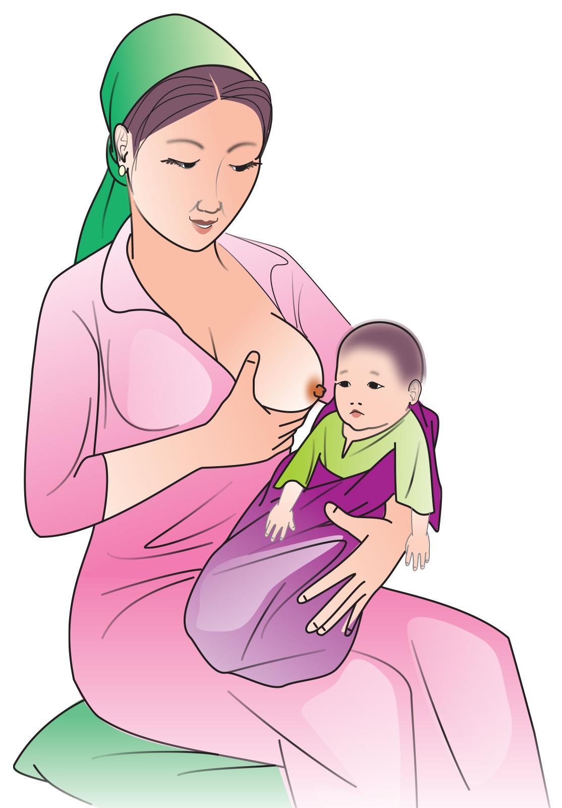 Sick Child Health - Breastfeeding a sick child 0-24mo - 02 - Kyrgyz Republic