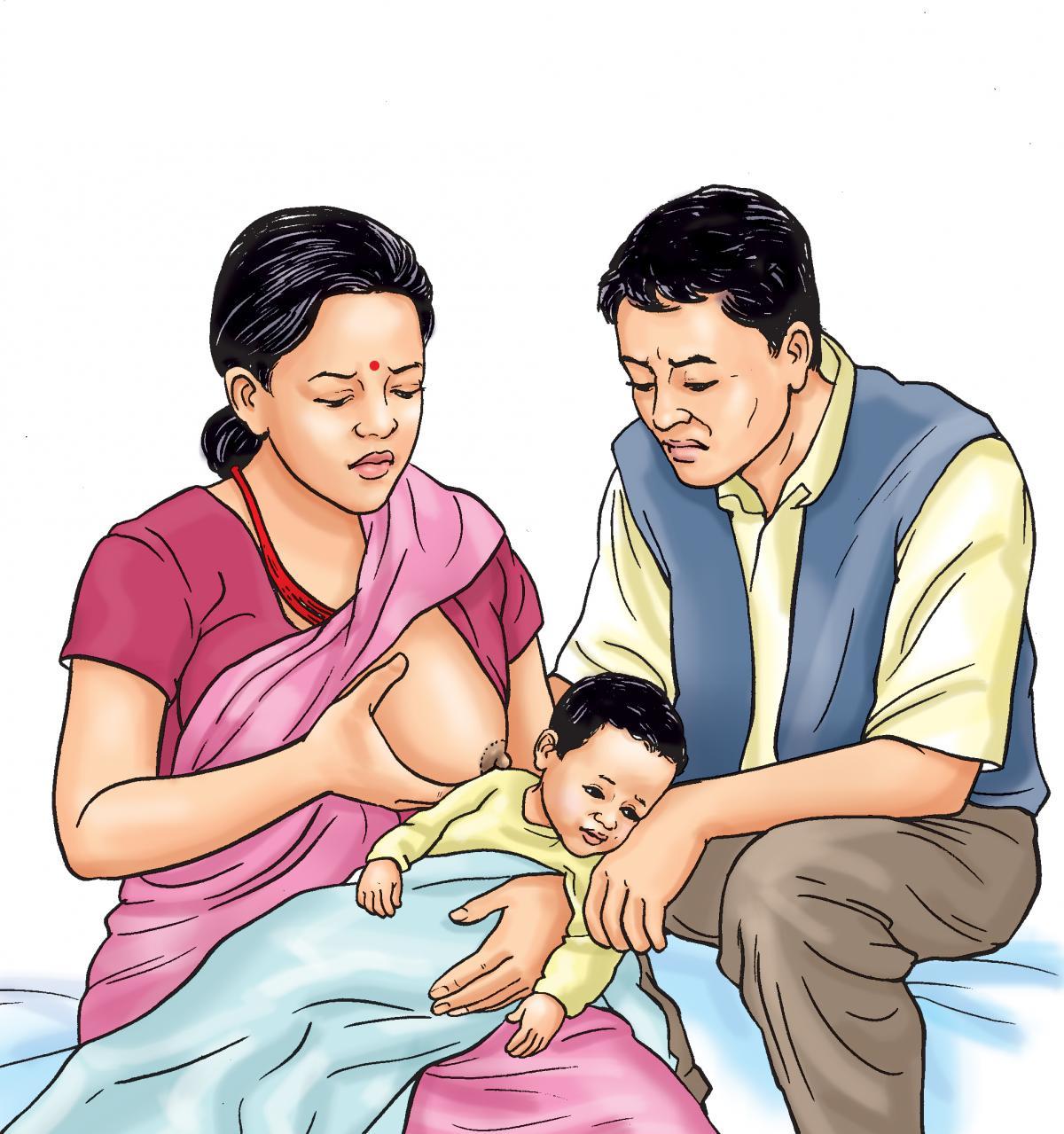 Sick child health - Refusal to feed - 01 - Nepal