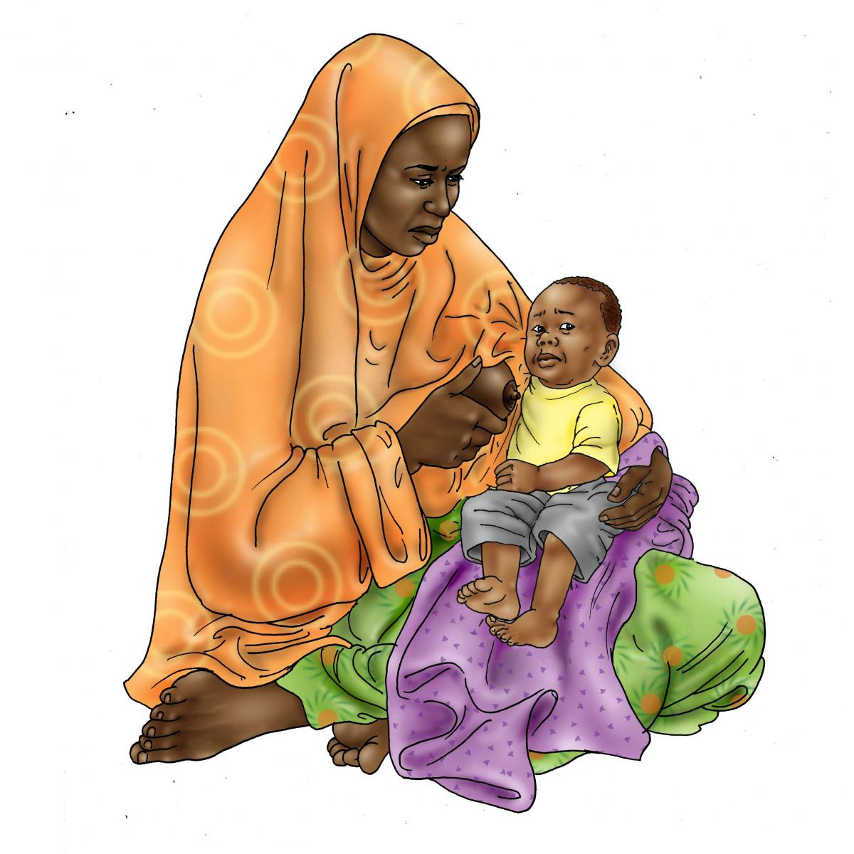 Sick Baby Nutrition - Sick baby refuses to breastfeed - 02 - Niger