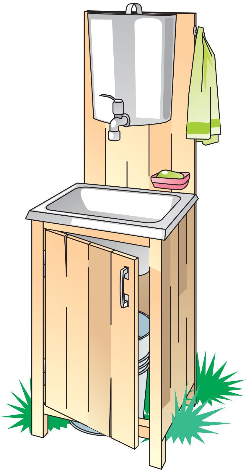Hygiene - Handwashing station  - 00A - Kyrgyz Republic