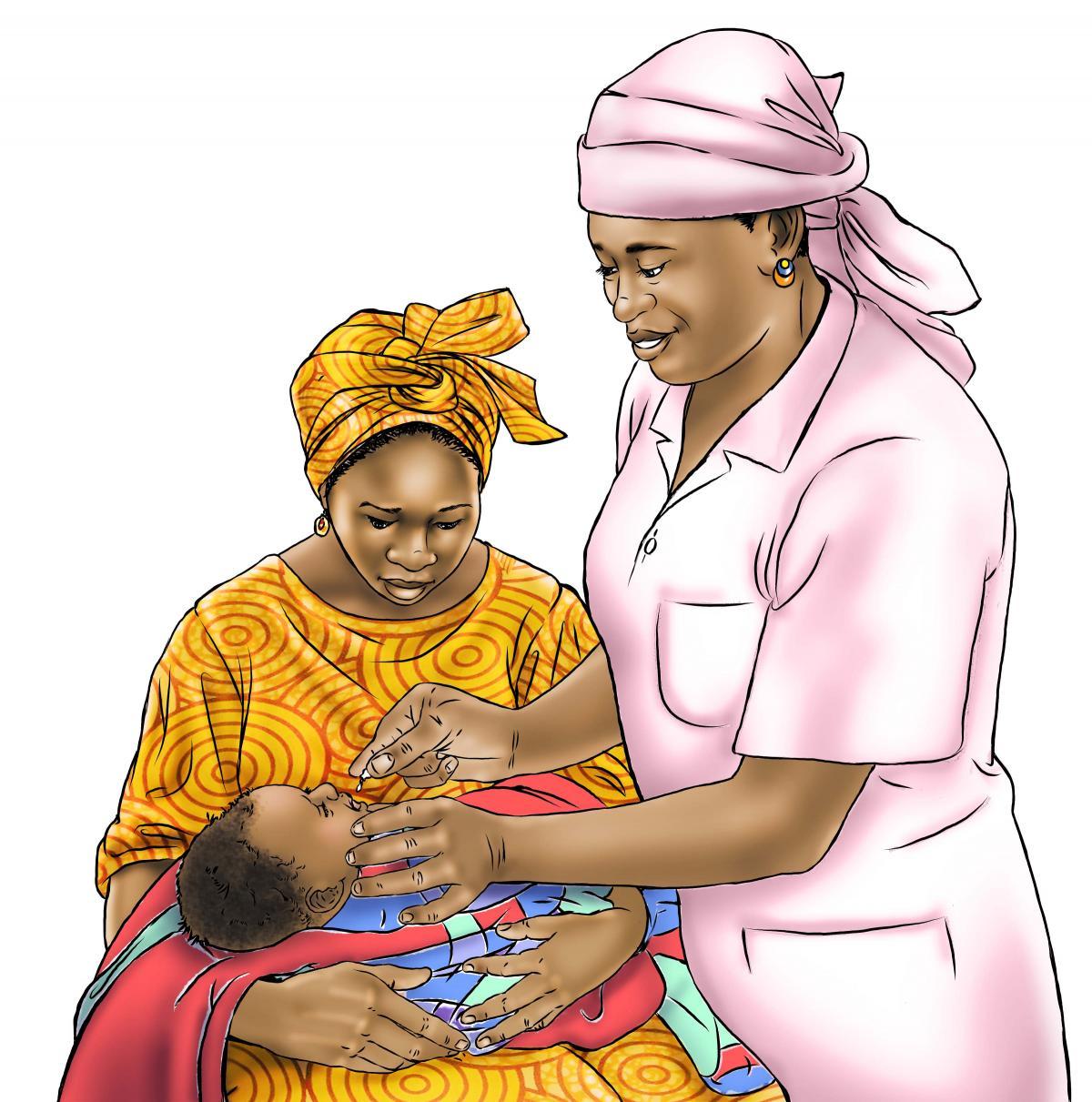 Baby Health Care - Vitamin A drops 0-24 mo - 00B - Senegal