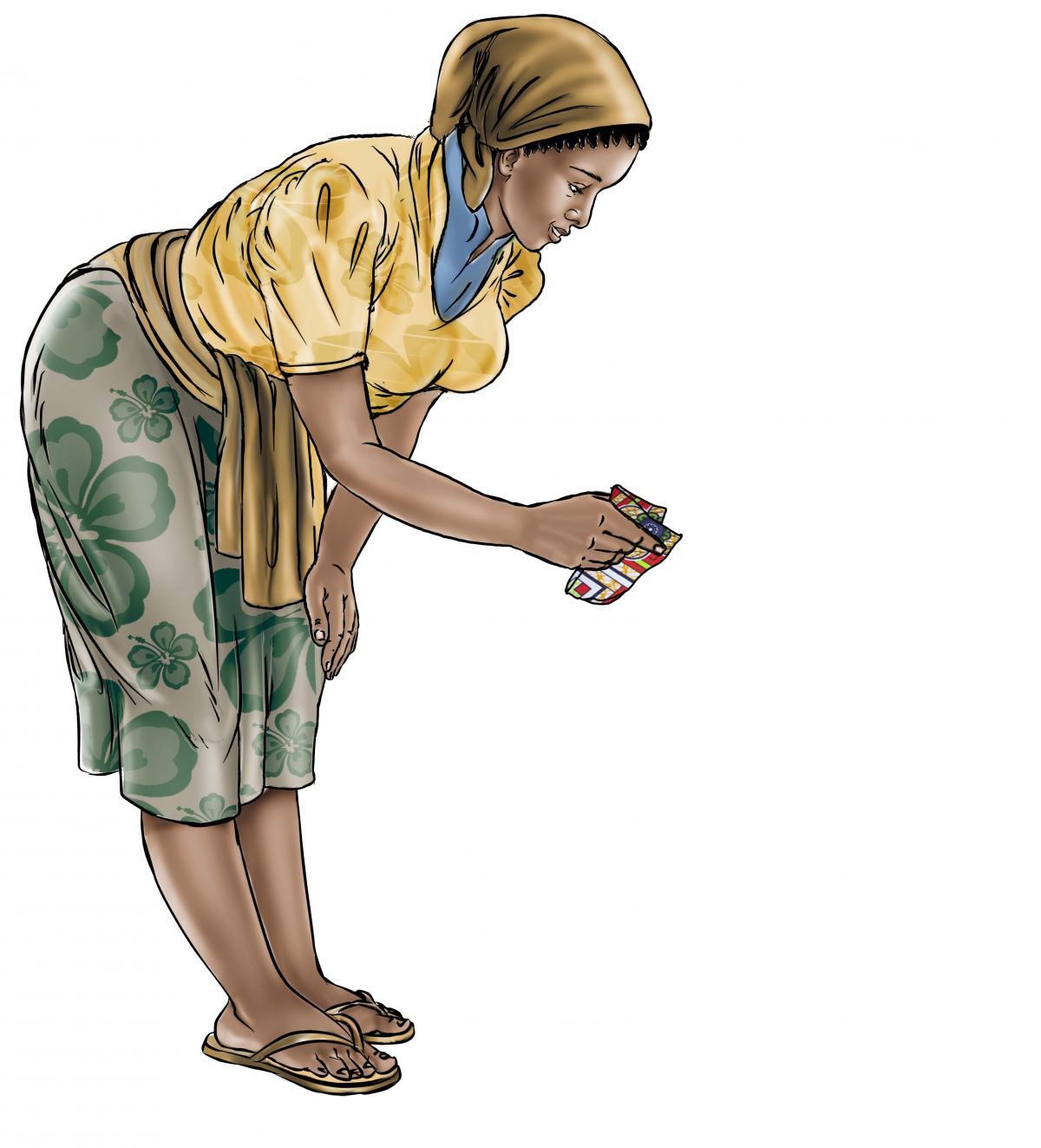 Hygiene - Mother boiling water - 01 - Sierra Leone