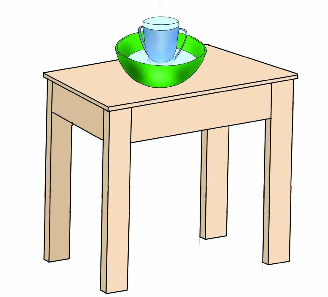 Hygiene - Cup feeding table - 00 - Nigeria