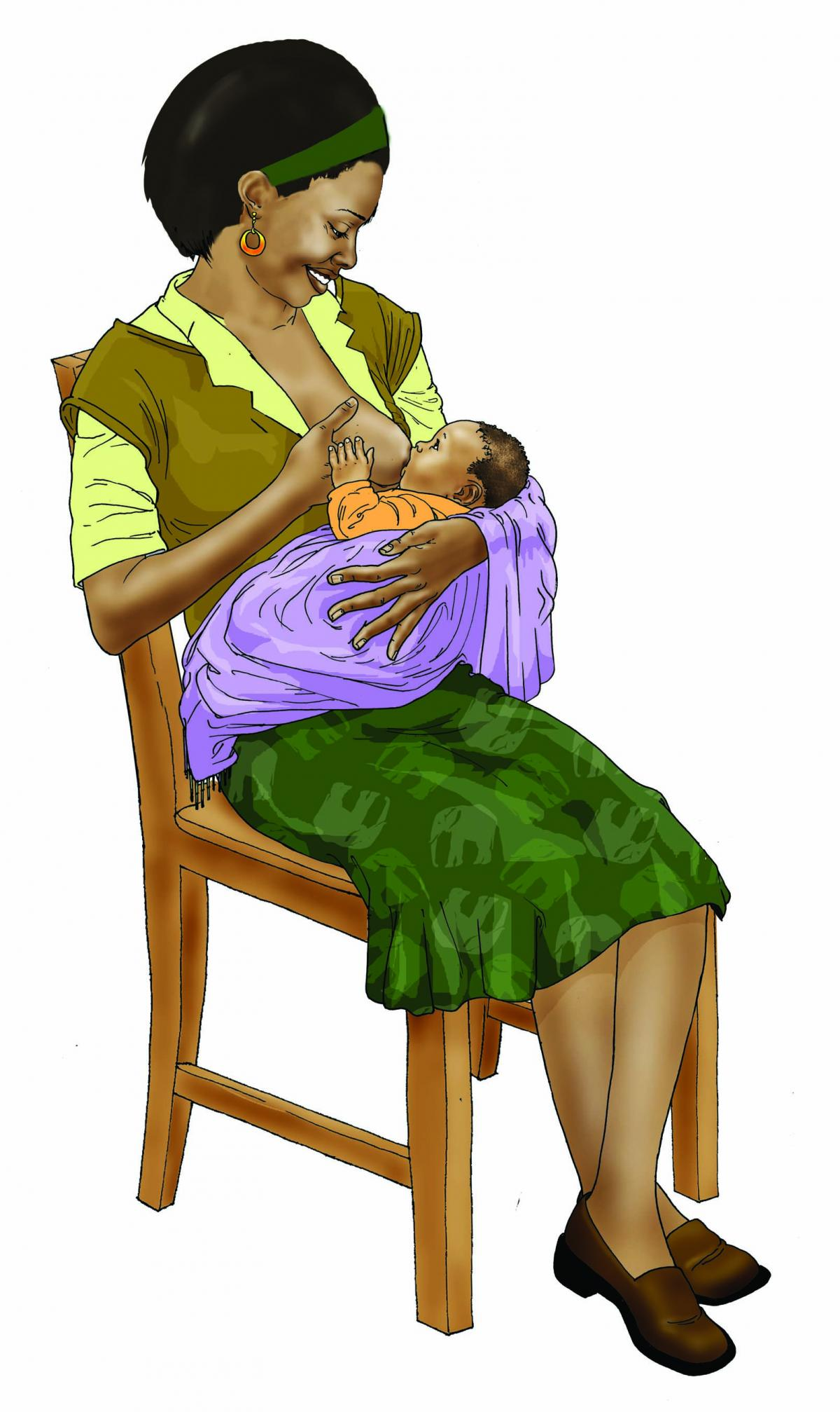Breastfeeding - Exclusive breastfeeding - sitting 0-6 mo - 00B - Non-country specific