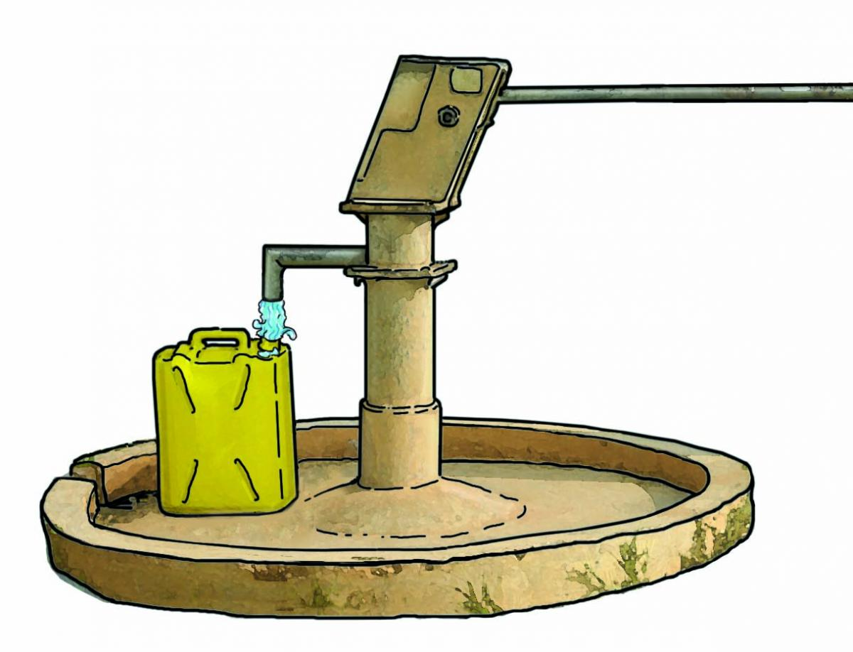 Objects - Water pump - 00A - Non-country specific