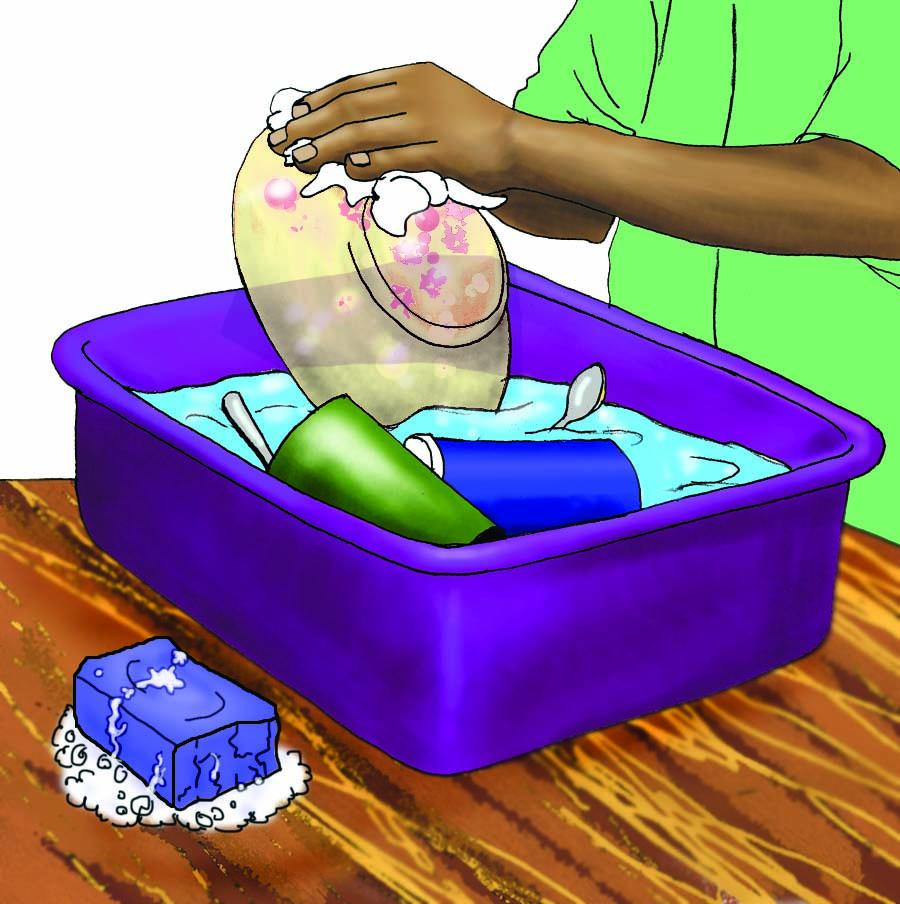 Hygiene - Washing dishes - 00 - Non-country specific