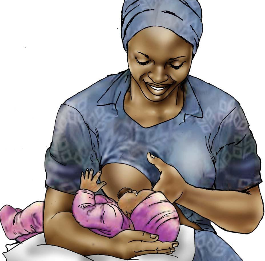 Breastfeeding - Breastfeeding positions - Football hold 0-6 mo - 02A - Non-country specific