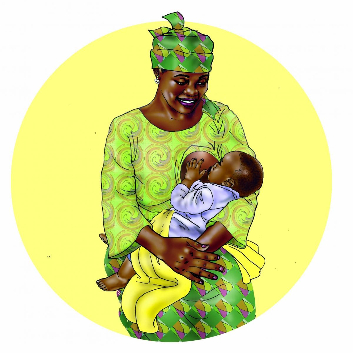 Breastfeeding - Exclusive breastfeeding 6-9 mo - 00A - Benin