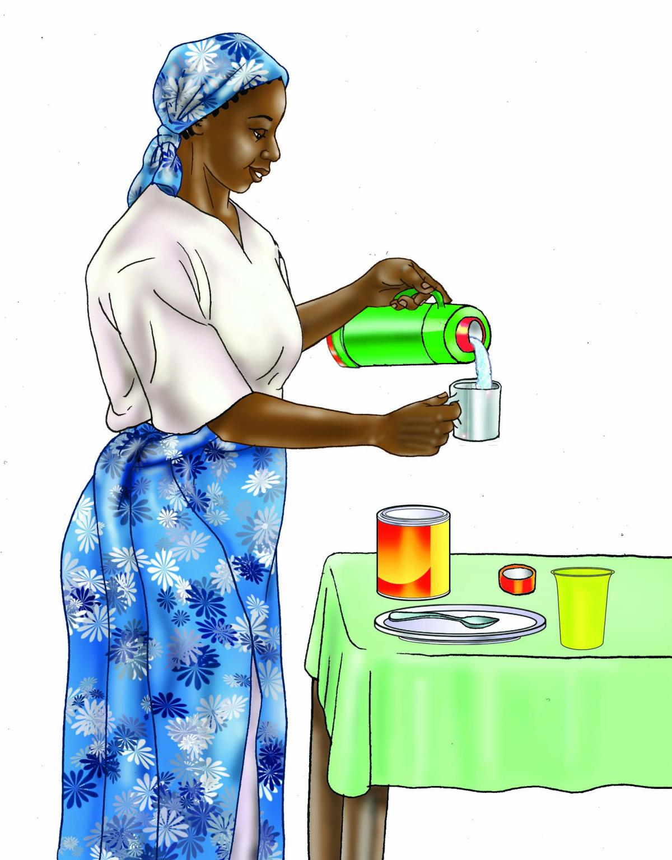 HIV - Preparing infant formula 0-24 mo - 03 - Tanzania