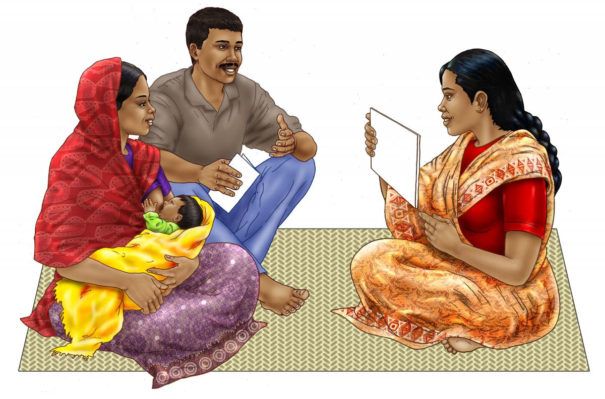 Counseling - Breastfeeding counseling - 00 - India
