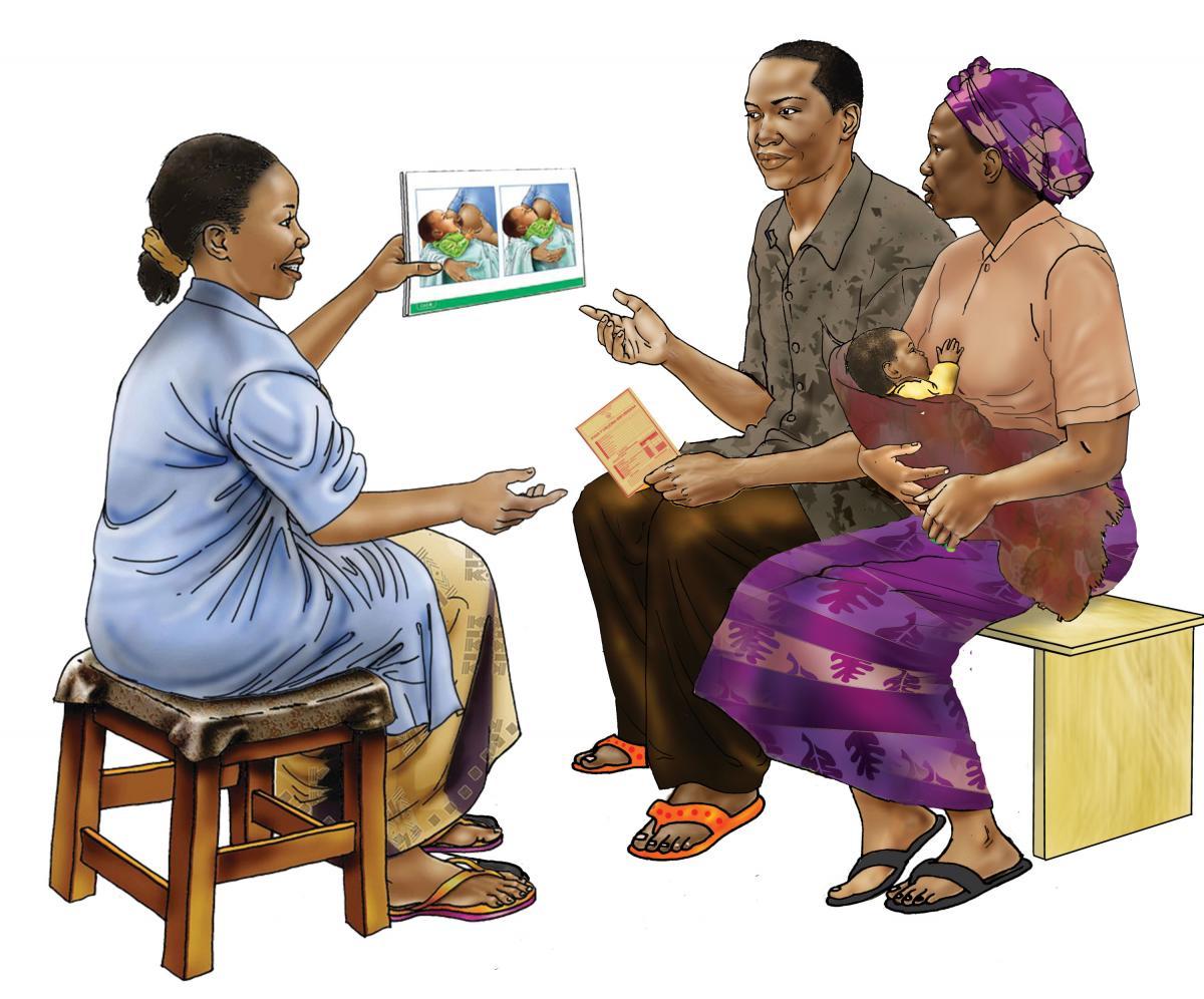 Counseling - Breastfeeding counseling 0-6mo - 01A - Rwanda