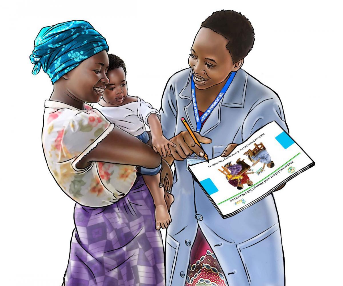 Counseling - Breastfeeding counseling - 02 - Rwanda