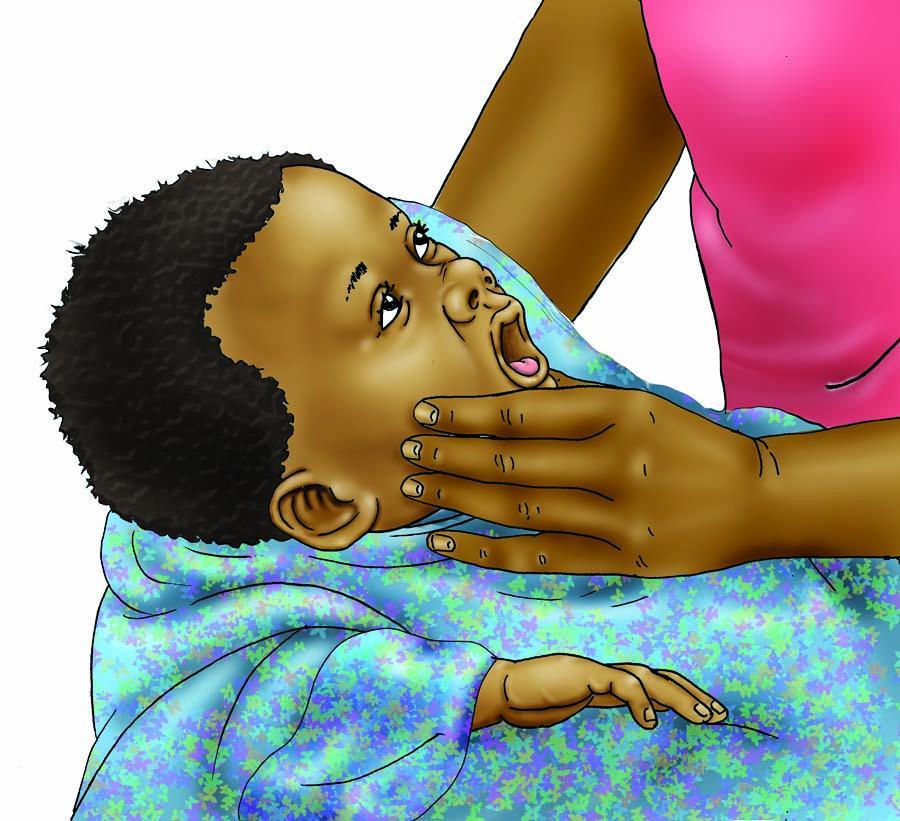 Sick Baby Health Care - Checking baby's health - 00 - Nigeria