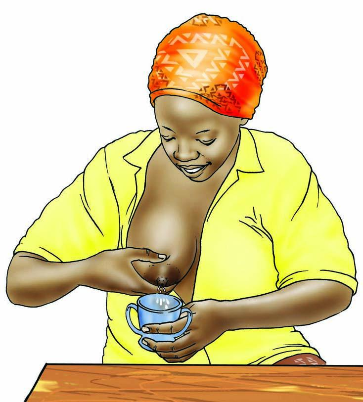 Cup feeding - Expressing breastmilk - 02B - Non-country specific