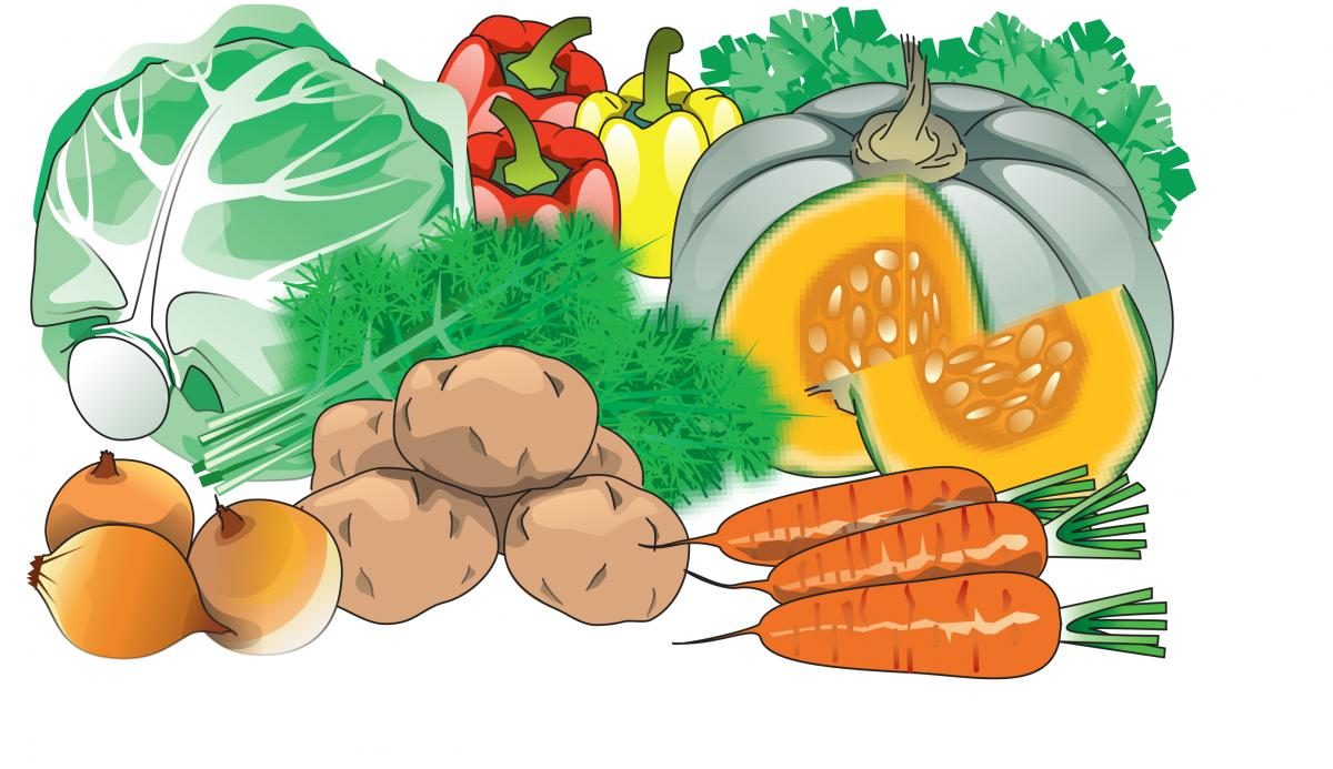 Food - Vegetables  - 00A - Kyrgyz Republic
