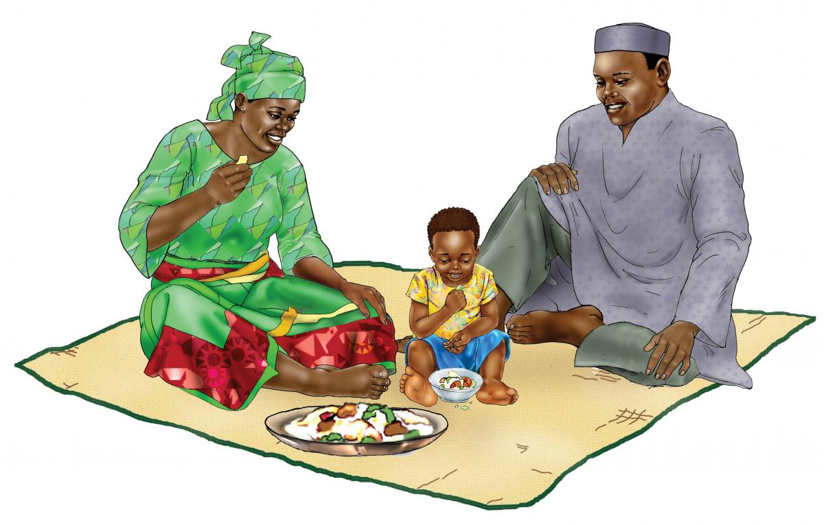 Family - Complementary feeding 12-24 mo - 00 - Niger