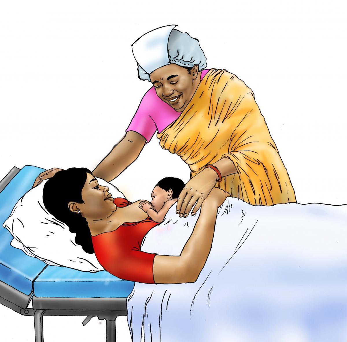 Breastfeeding - Early initiation of breastfeeding 0-6 mo - 02 - India