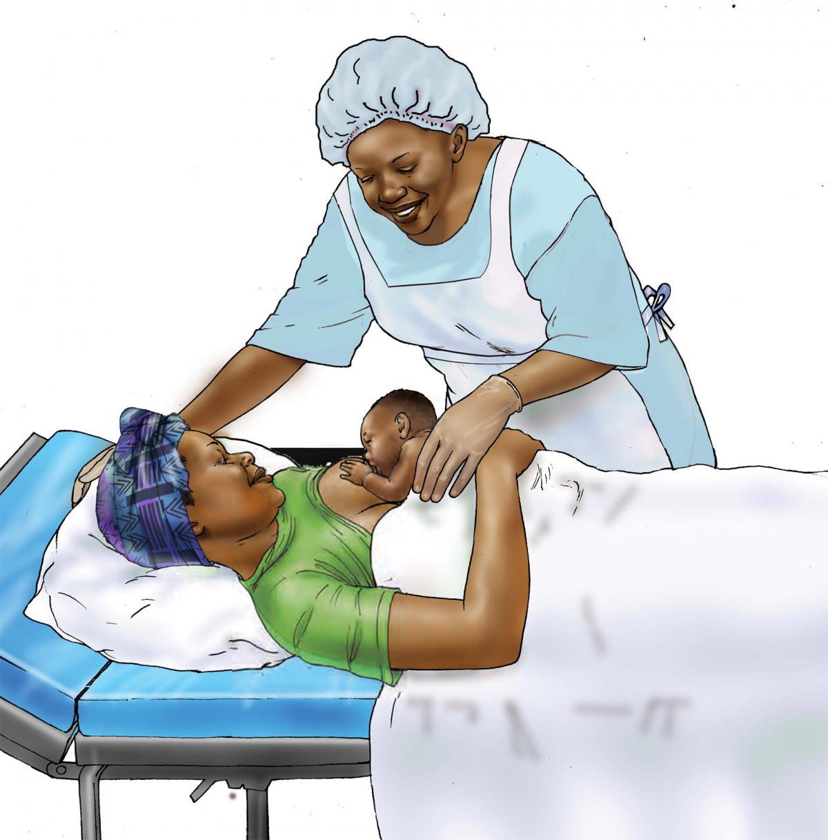 Breastfeeding - Early initiation of breastfeeding 0-6 mo - 01D - Niger