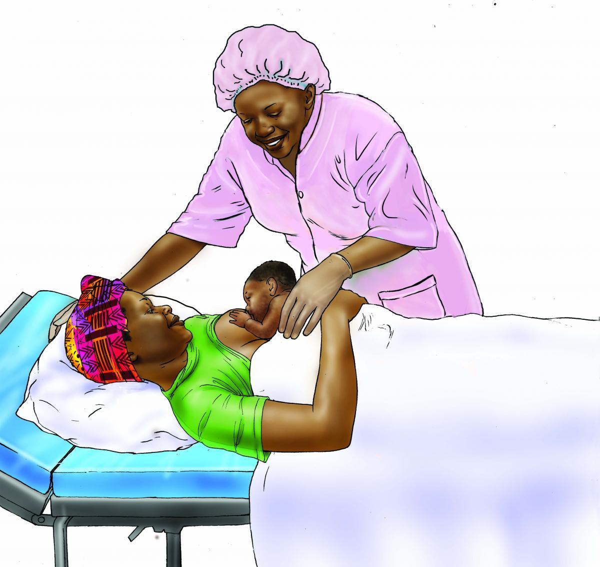 Breastfeeding - Early initiation of breastfeeding 0-6 mo - 01H - Senegal