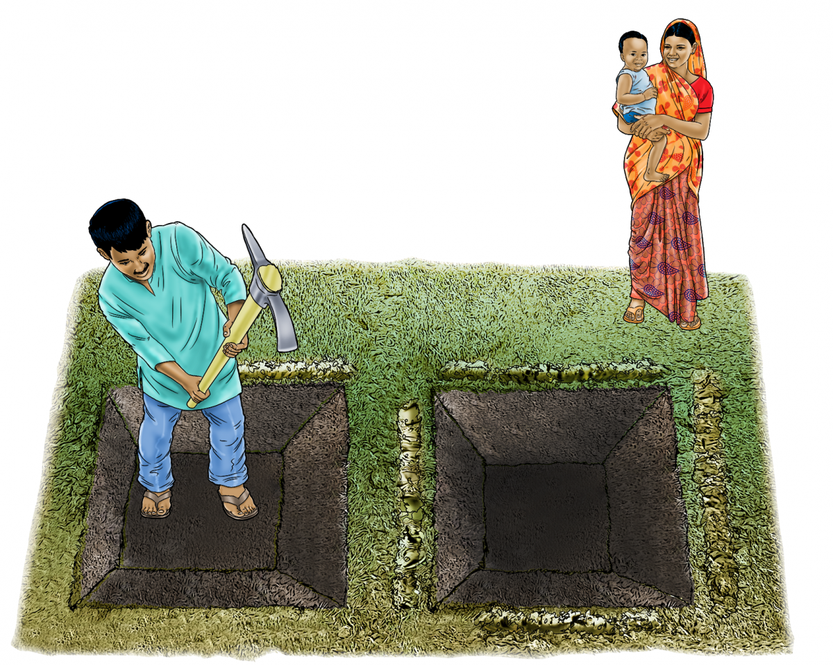 Agriculture - Pit Composting - 02 - India