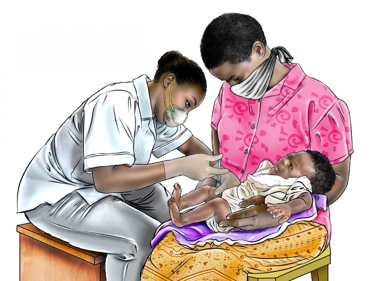 Child Health Care - Immunization - 01 - COVID