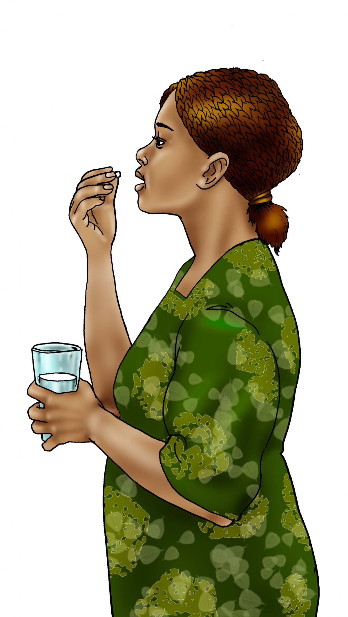 Maternal Health - Mother taking medicine - ARVs - 02BB - Non-country specific