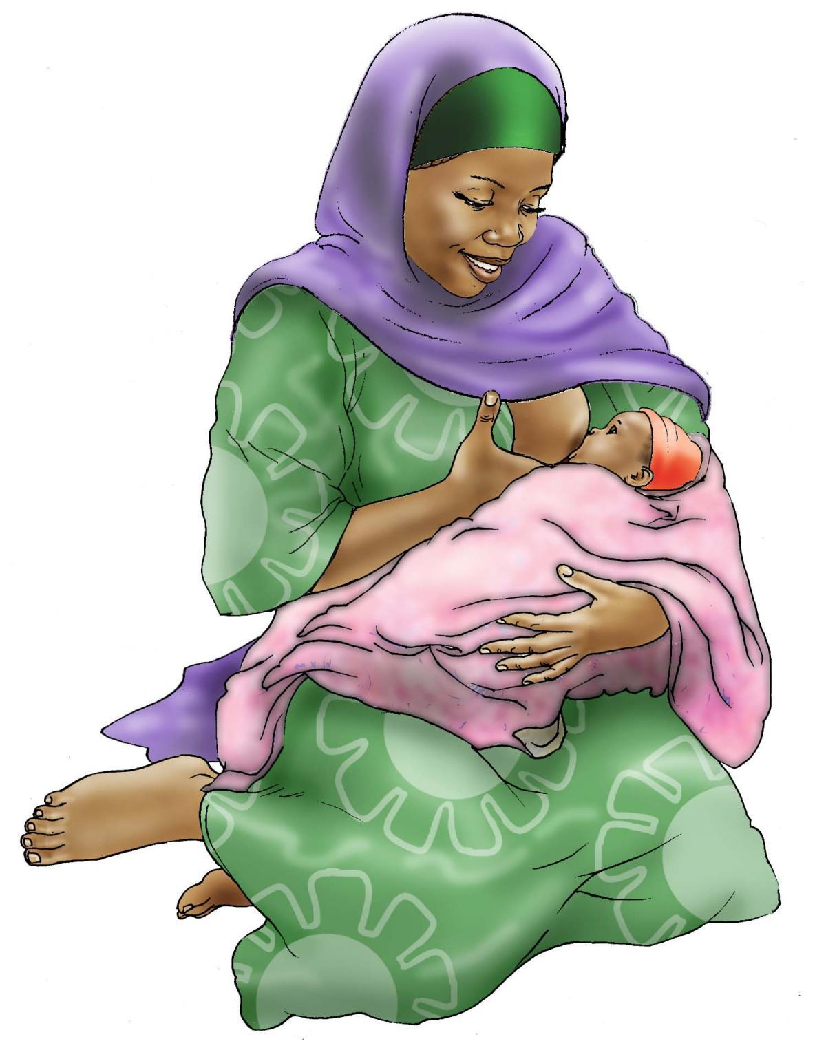 Breastfeeding - Exclusive breastfeeding 0-6 mo - 01E - Niger