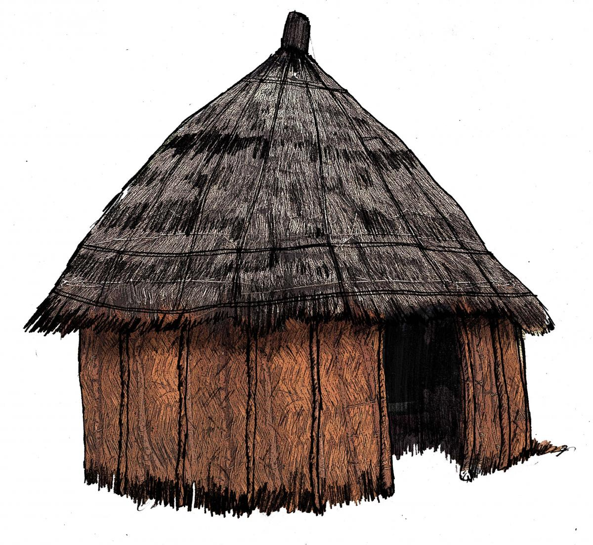 Objects - Hut - 01 - Nigeria