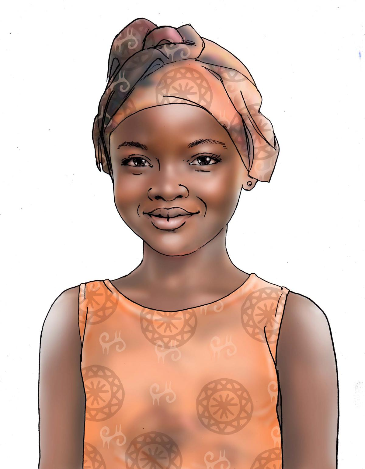 People - Young girl - 00 - Niger