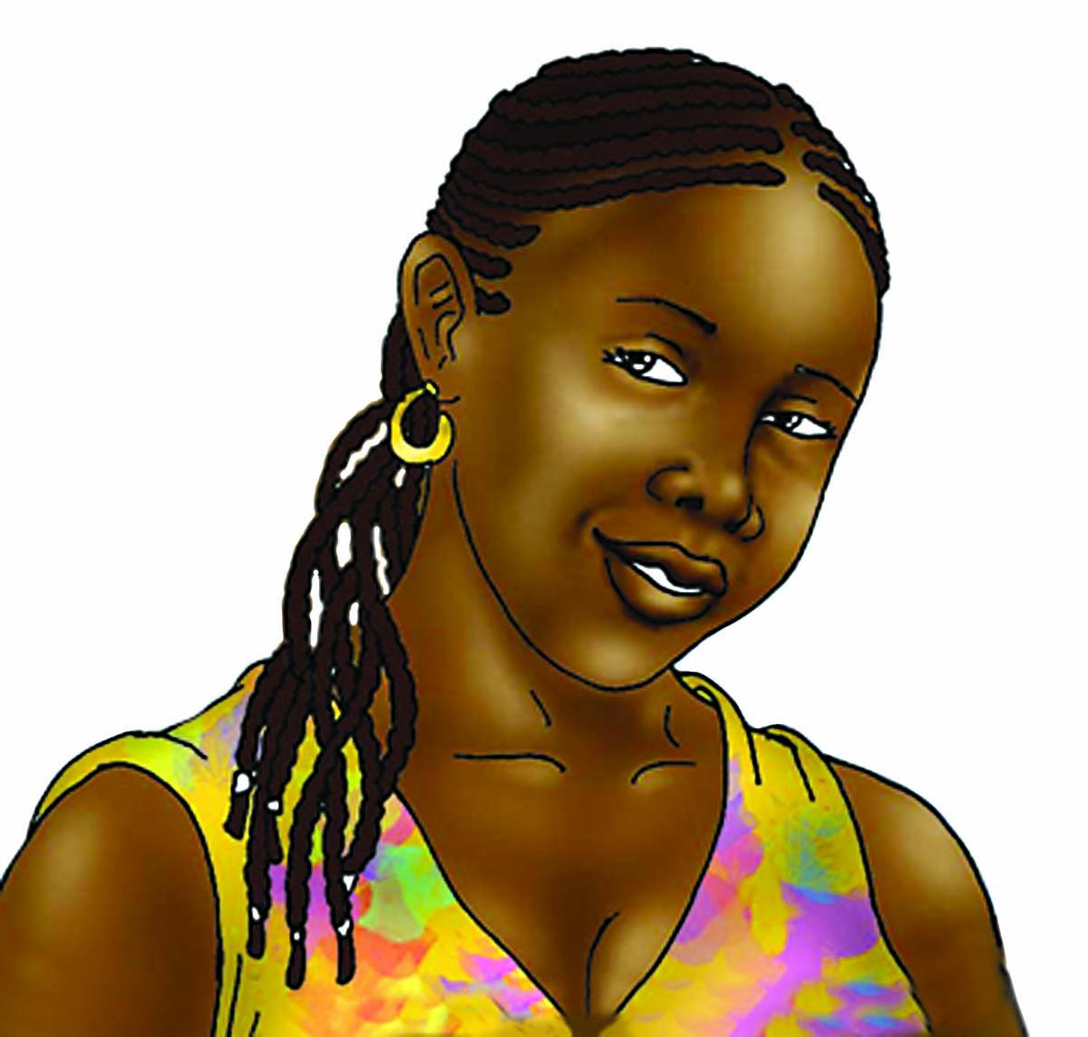 People - Young woman - 00A - Nigeria