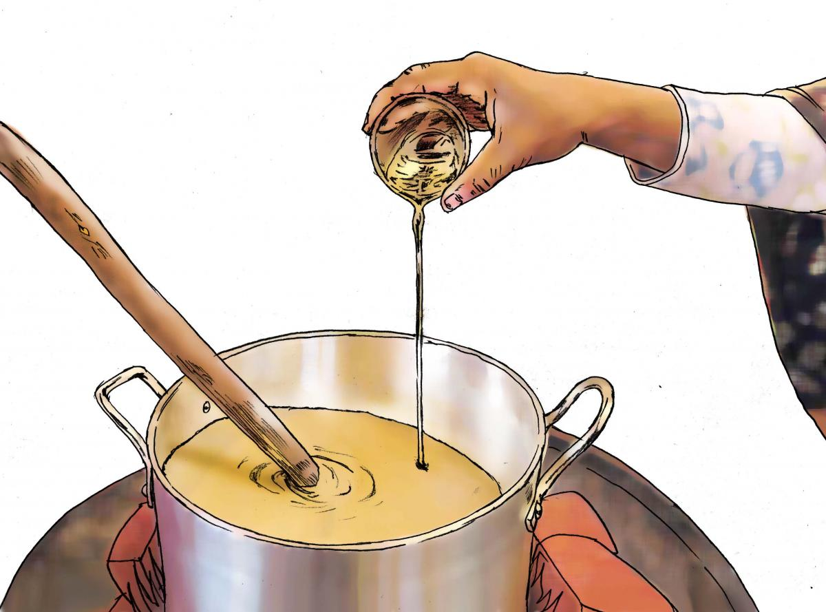 Food practices - Preparing food - 01 - Kenya Dadaab