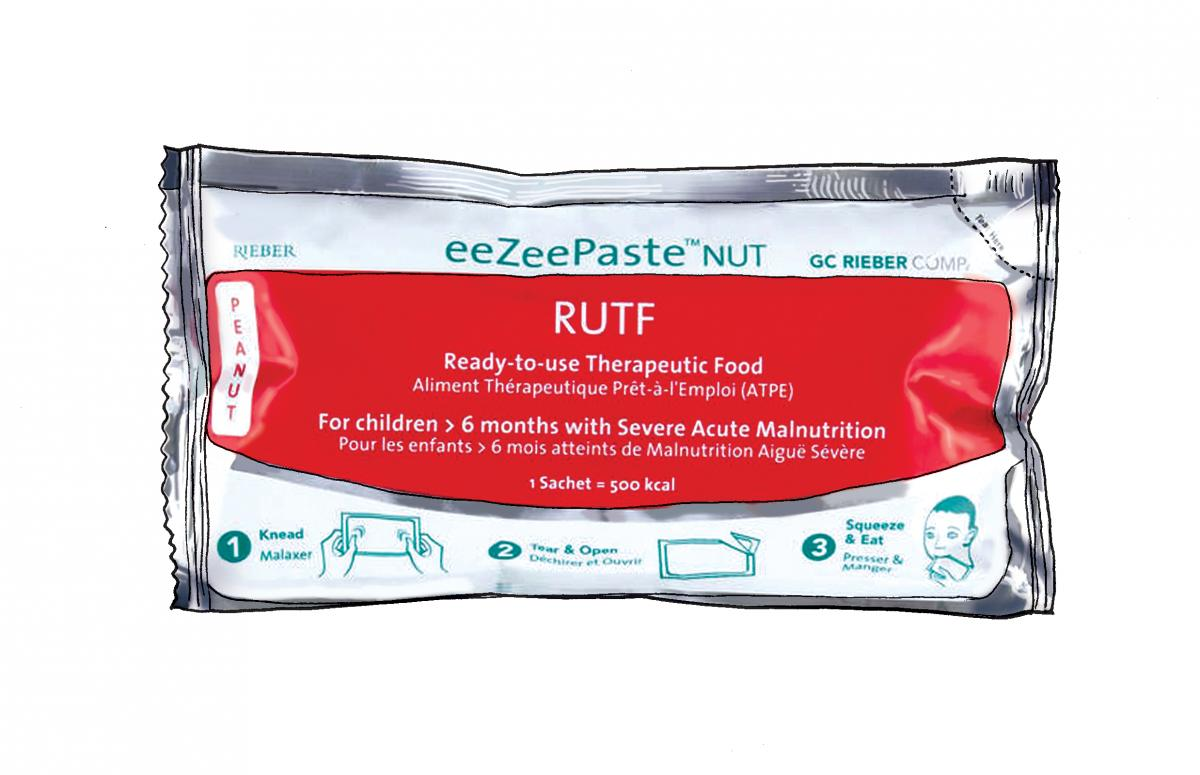 Food - Ready to use therapeutic food packet - 00B - Nepal
