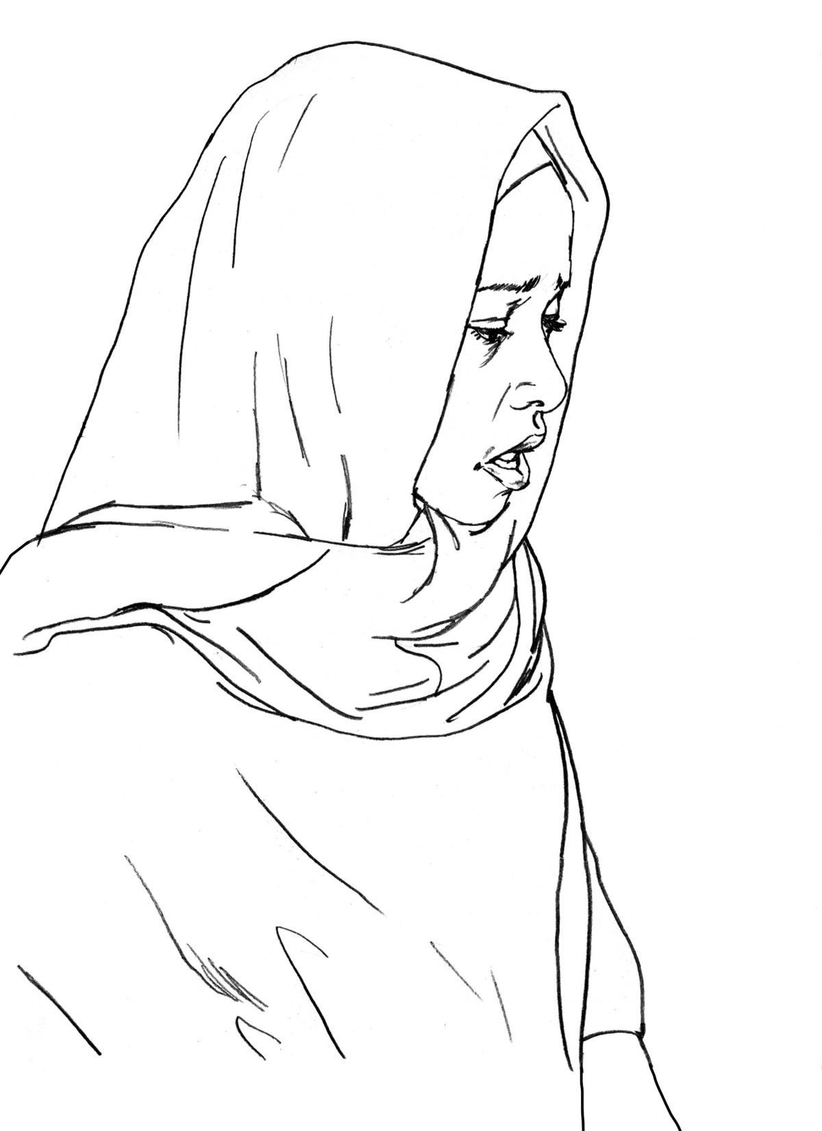 Maternal health - When to visit the health clinic - pregnancy - 10B - Kenya Dadaab