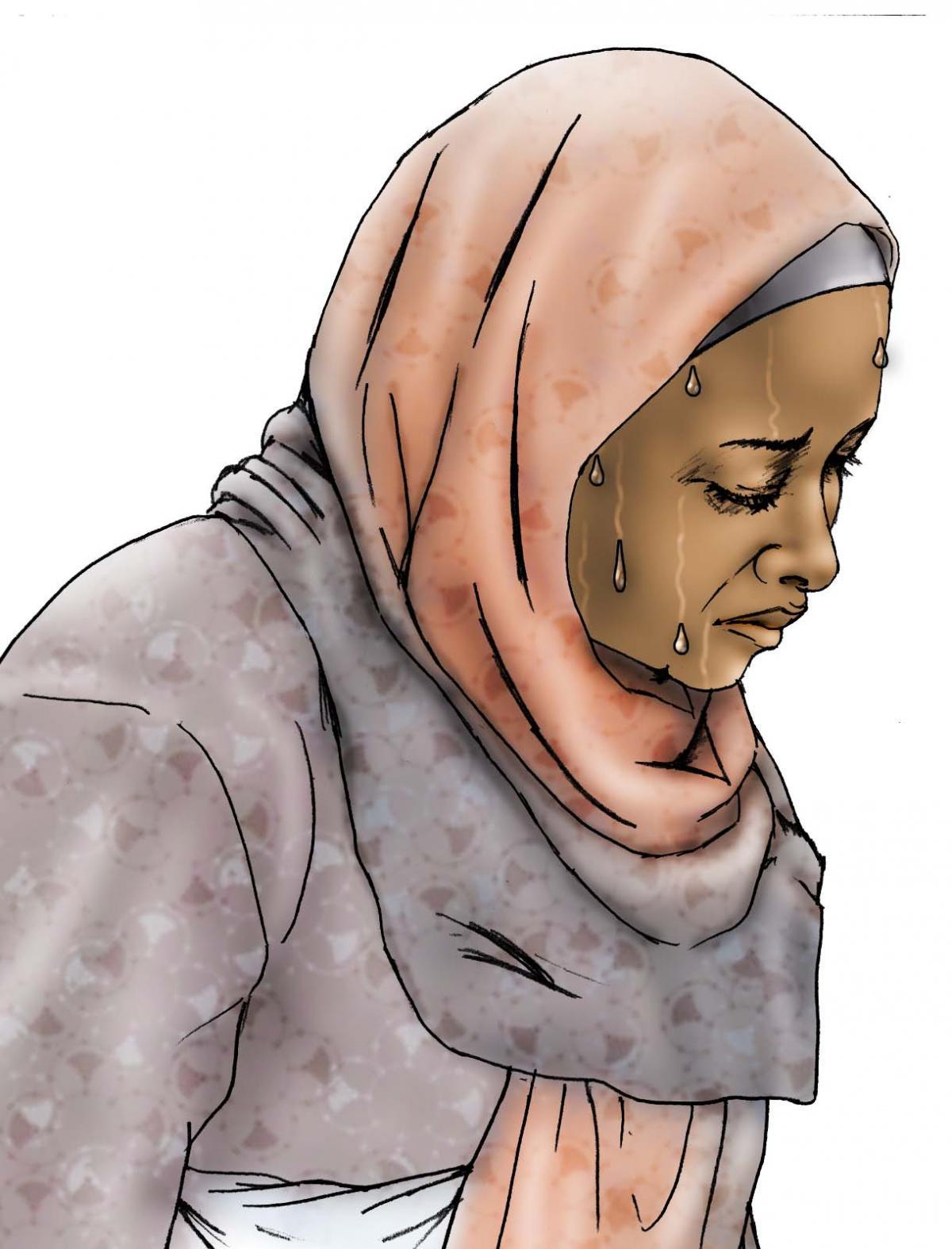 Maternal health - When to visit the health clinic - pregnancy - 11 - Kenya Dadaab