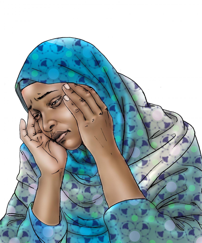 Maternal health - When to visit the health clinic - pregnancy - 12 - Kenya Dadaab