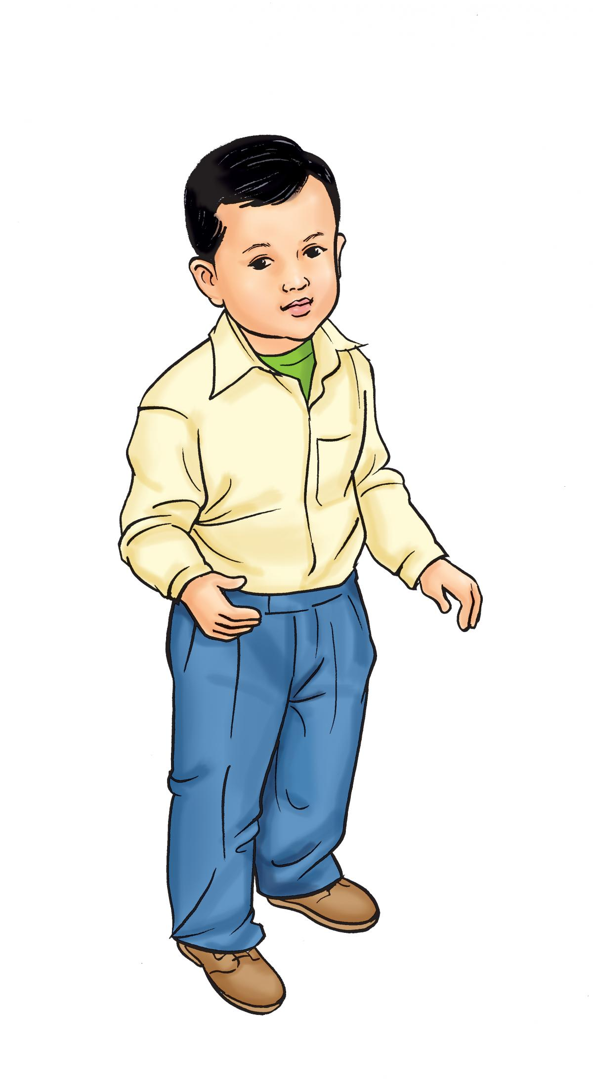 People - Healthy toddler boy 18-24 mo - 01A - Nepal
