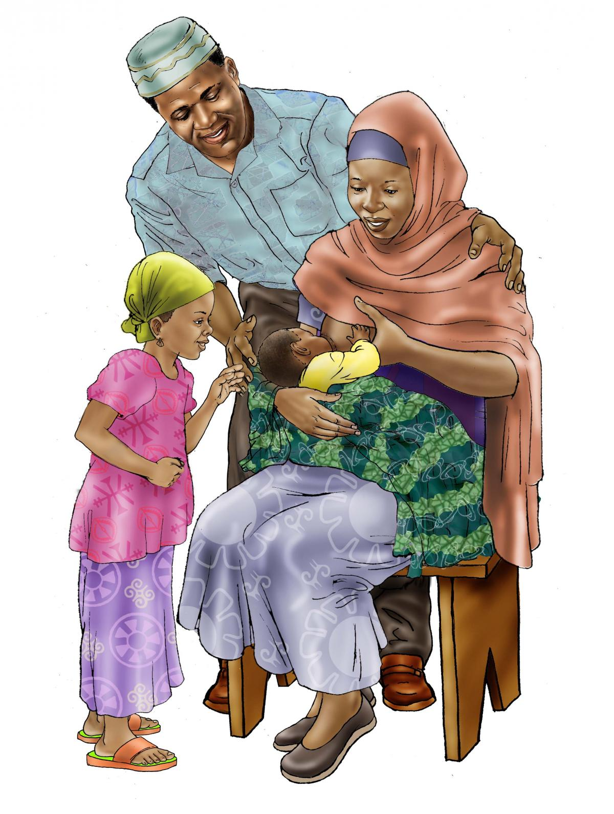 Family - Family Support for Breastfeeding - 00B - Niger