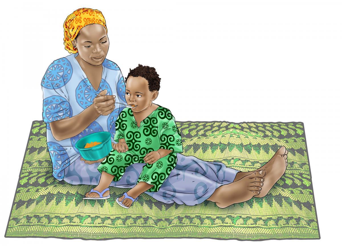 Complementary Feeding - Complementary Feeding 12-24 months 12-24 mo - 08 - Guinea