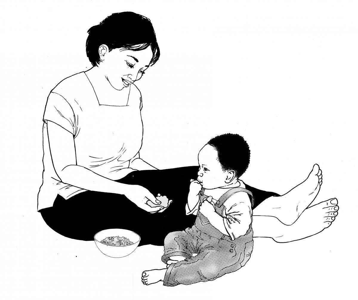 Complementary Feeding - Complementary Feeding 9 to 12 months - 06 - Non-country specific